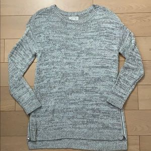 Lou & Grey Zipside Tunic Sweater